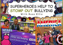 Superheroes Help STOMP Out Bullying With Halstead's Ross Ellis